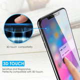 [4 Pack] Screen Protector for iPhone Xs Max, apiker Tempered Glass Screen Protector for iPhone Xs Max 6.5 Inch [Alignment Frame] [High Response]