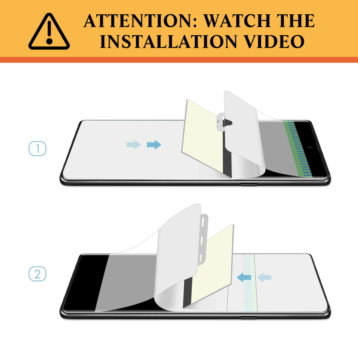 [4 Pack] Screen Protector for Galaxy Note 10,  apiker Full Coverage Screen Protector for Samsung Galaxy Note 10 - [Scratch Resistance] [HD Clear]