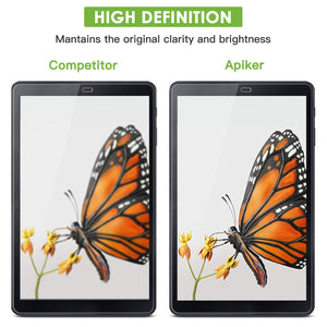 apiker (3 Pack) Galaxy Tab A 10.5 Screen Protector, Tempered Glass Screen Protector for Samsung Galaxy Tab A 10.5 (SM-T590 / SM-T595 / SM-597)