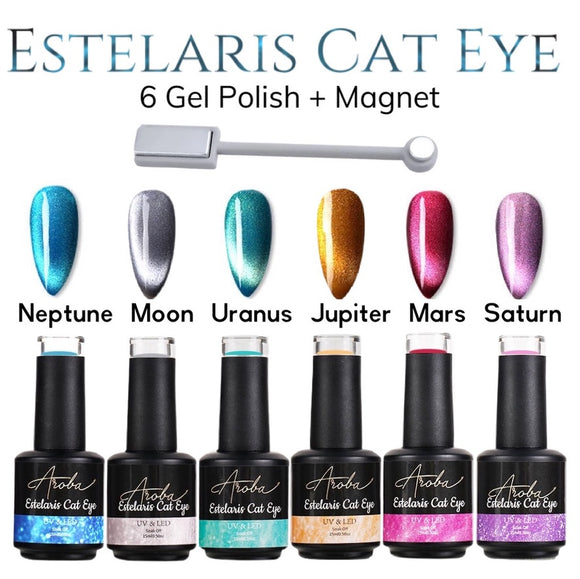 Estelaris Cat eye gel polish collection