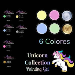 Unicorn Painting Gel Collection Exclusive