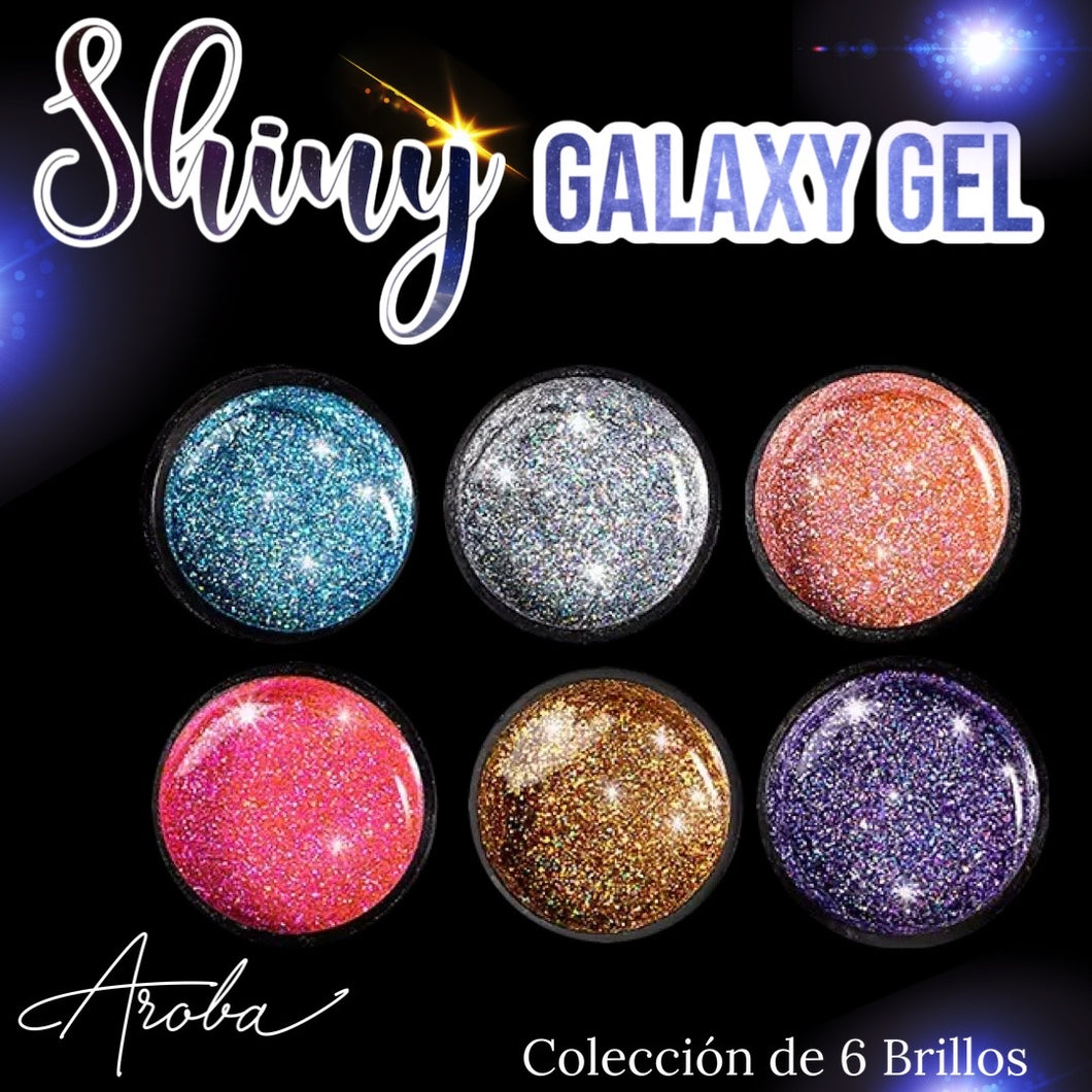 Shiny Galaxy Gel