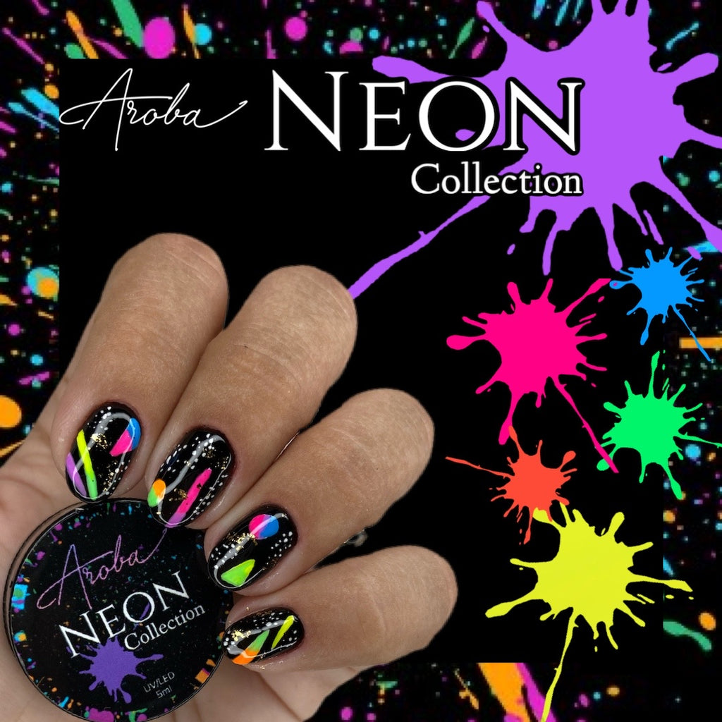 Neon Painting Gel Collection