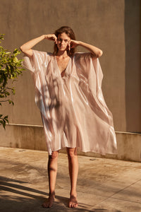 Filippias pink iridescent cover up