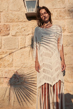 Load image into Gallery viewer, Iro white crochet cover up