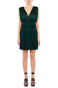 Vereniki arcadian emerald mini dress