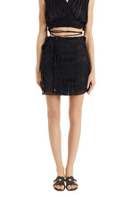 Load image into Gallery viewer, Knossos black Antigone mini skirt