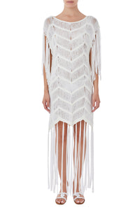 Iro white crochet cover up