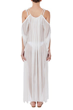 Load image into Gallery viewer, Thalassa white maxi cover-up