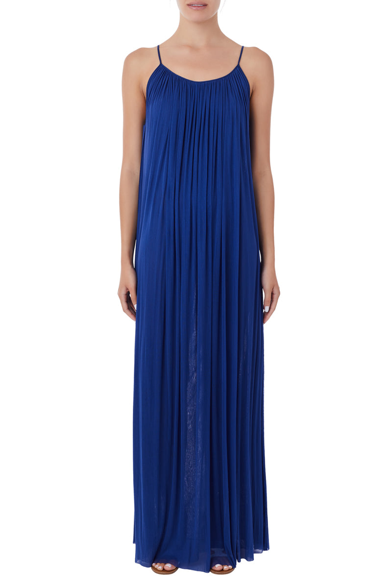 Antiope cobalt blue maxi dress