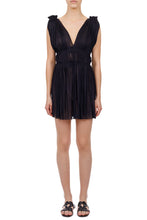 Load image into Gallery viewer, Vereniki black mini dress