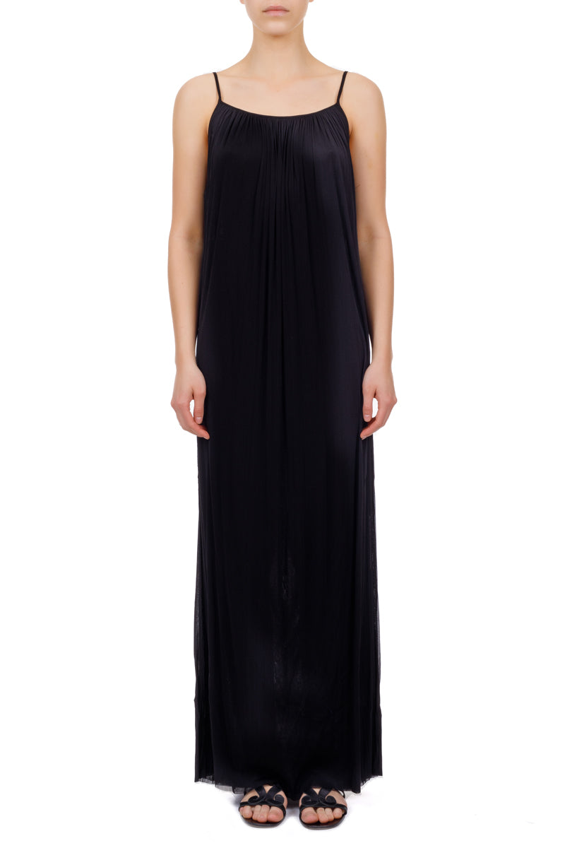 Antiope black maxi dress