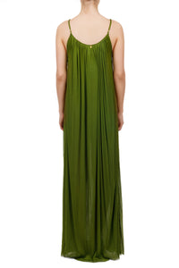 Antiope khaki maxi dress