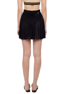 Antigone black mini skirt