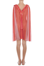 Load image into Gallery viewer, Natasha coral-pink crinkled tunic