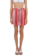 Load image into Gallery viewer, Aphrodite coral-pink mini skirt
