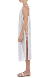 Calliope white cover-up