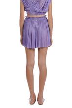 Load image into Gallery viewer, Antigone purple mini skirt