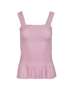 Load image into Gallery viewer, Eugenia light pink silk-tulle top