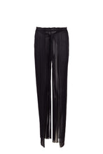 Load image into Gallery viewer, Melinoe black silk-tulle wrap pants