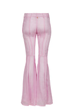 Load image into Gallery viewer, Kaia pink silk bootcut pants