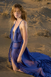 Leda cobalt blue cover-up