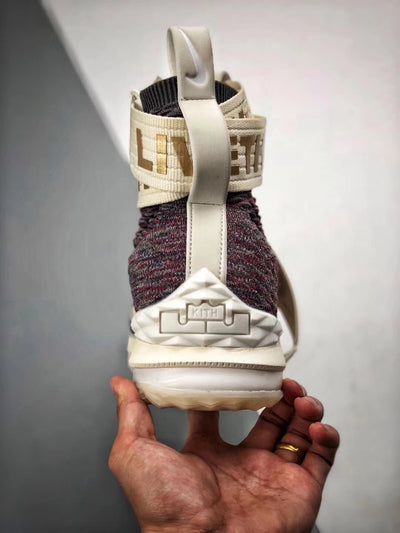 Nike LeBron 15 Lifestyle KITH Stained Glass