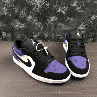 TÊNIS NIKE AIR JORDAN 1 LOW COURT PURPLE