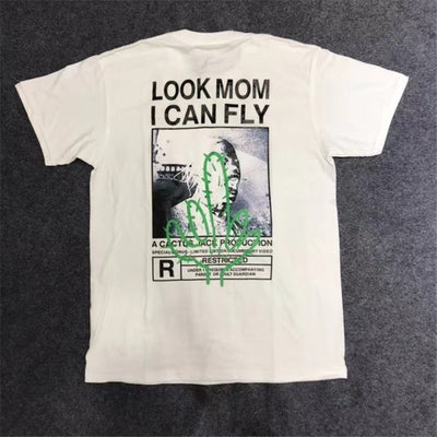 Camiseta Cactus Jack 'Look Mom I Can Fly'