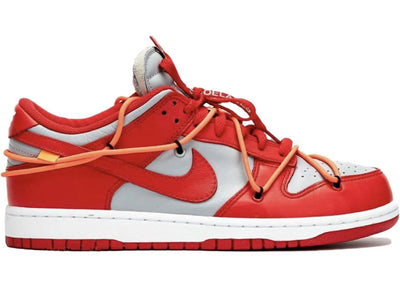 "Tênis Nike Dunk Low Off-White ""University Red"""