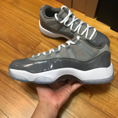 "Tênis Air Jordan 11 Low ""Cool Grey"""