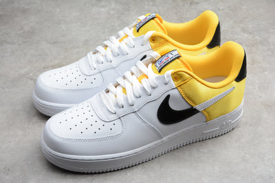 Nike Air Force 1 NBA Satin Yellow