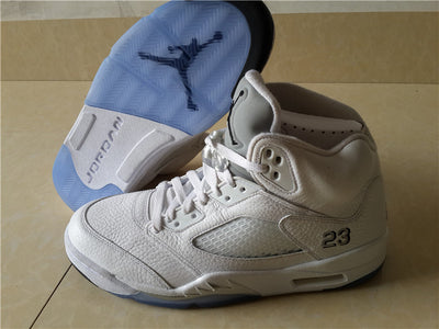 "Tênis Air Jordan 5 ""Metallic Silver"""