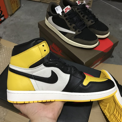 "Tênis Air Jordan 1 ""Yellow Toe"""