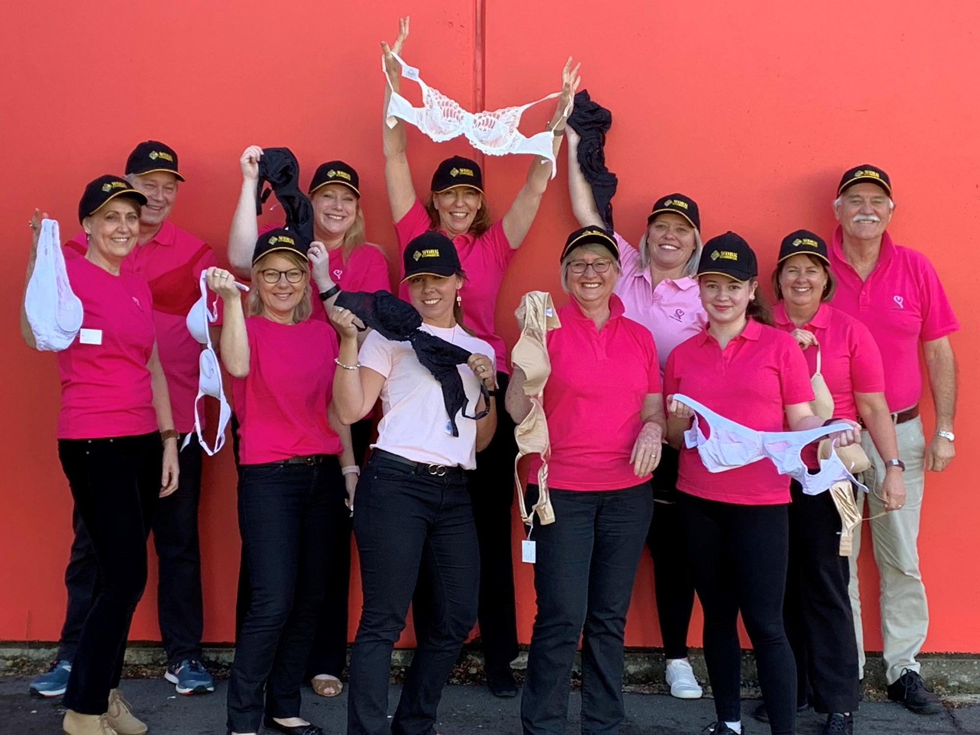 Work Clobber Bunbury going Pink for Breast Cancer Awareness Month