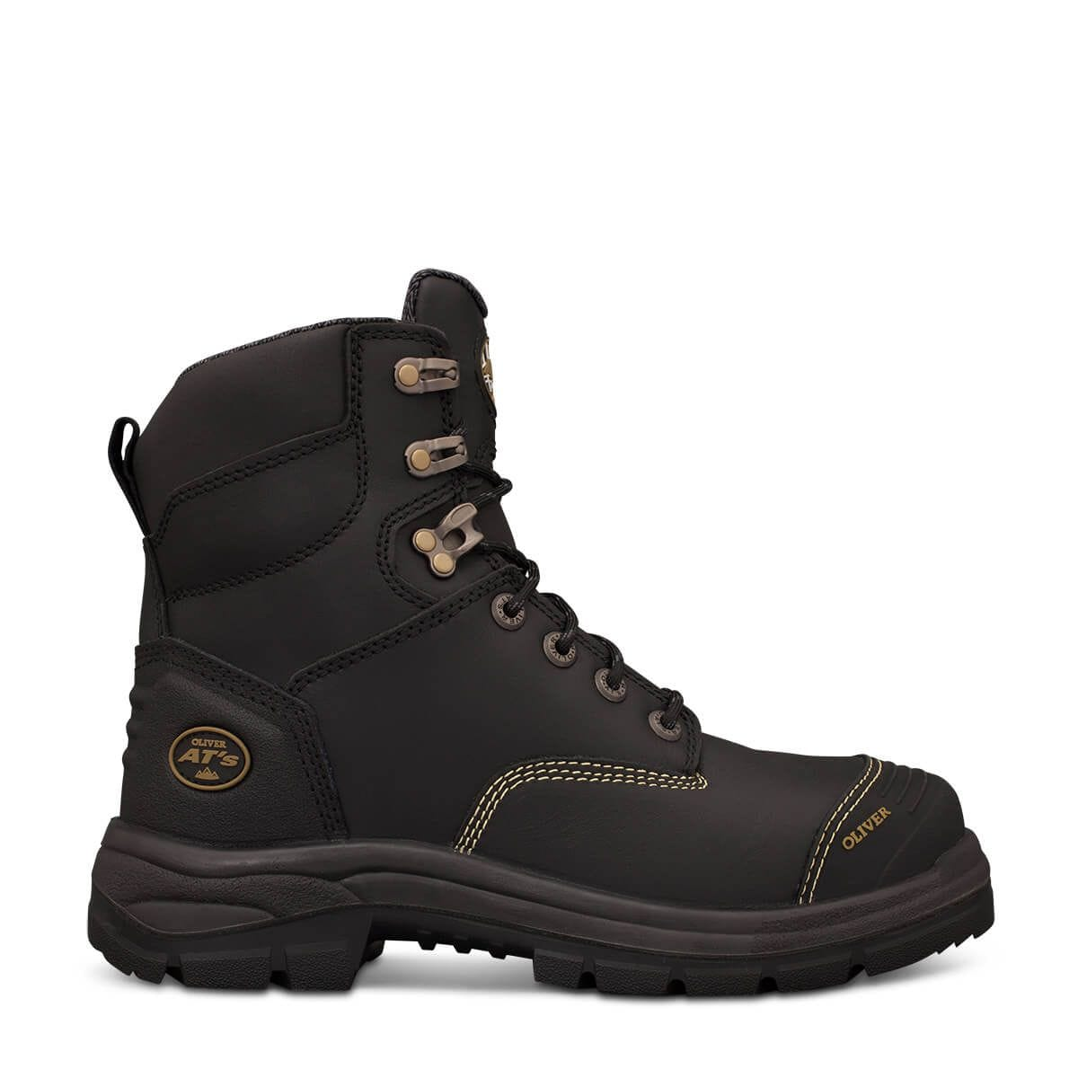 ATs Lace Up Steel Cap Boots