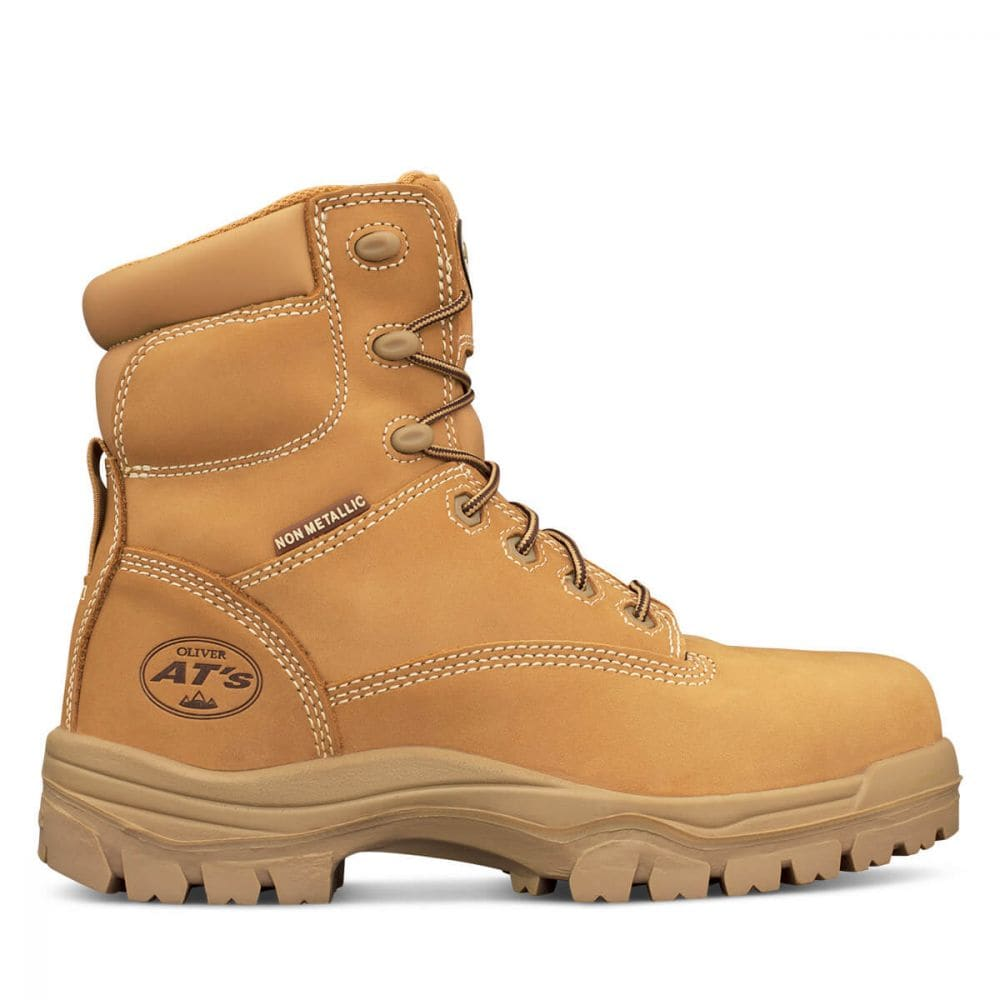 ATs Lace Up Composite Cap Boots