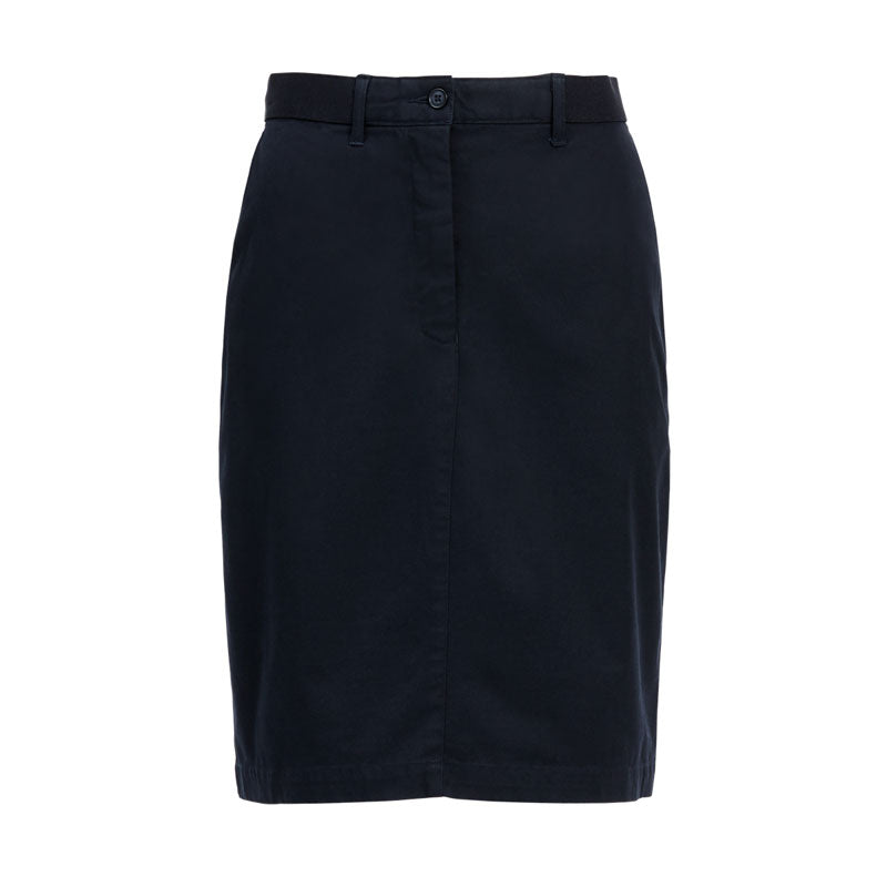 Ladies Mid Length Chino Skirt