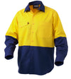 Workcool Long Sleeve 2 Tone Shirt