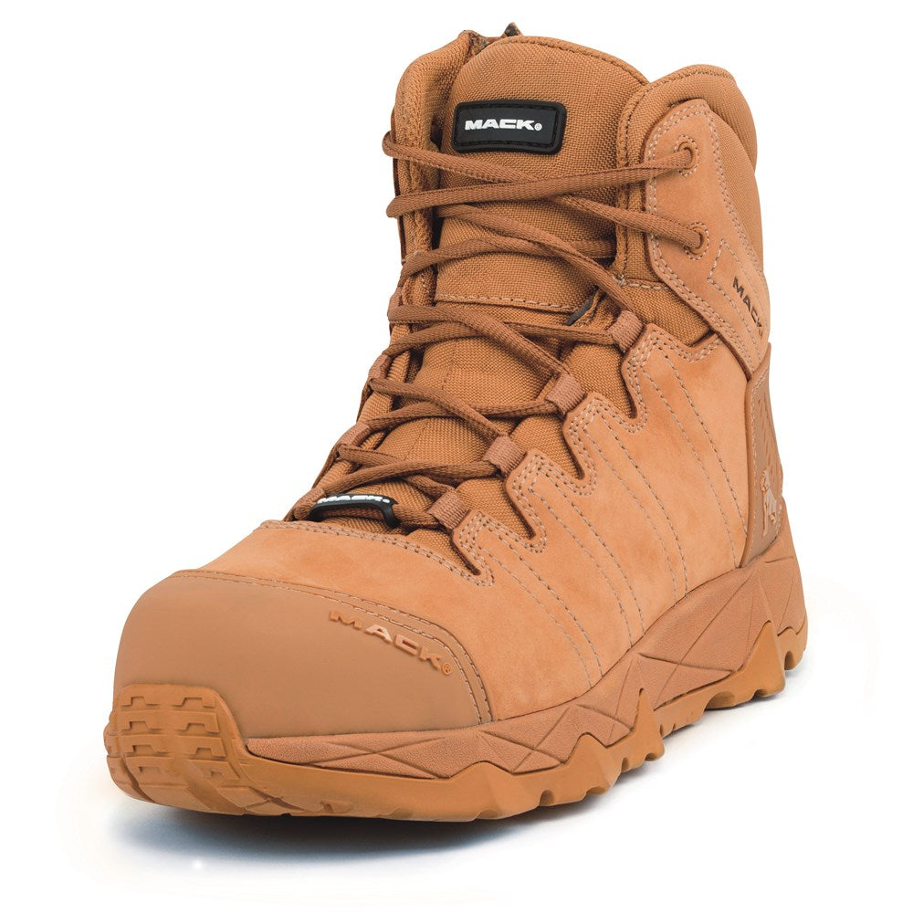 Octane Lace Up Zip Side Electrical Hazard Composite Cap Boot