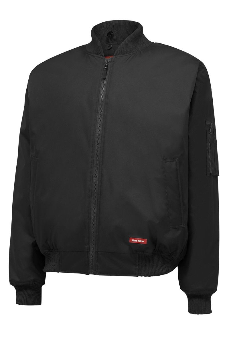 Core Plain Bomber Jacket