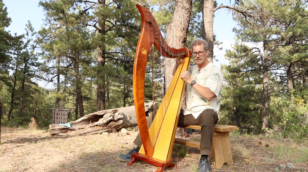 Ross's journey into building instruments and sound sculptures began four decades ago.