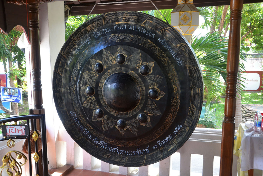 The nipple gong is perhaps most prominent in East and Southeast Asia where they are largely used for worship.