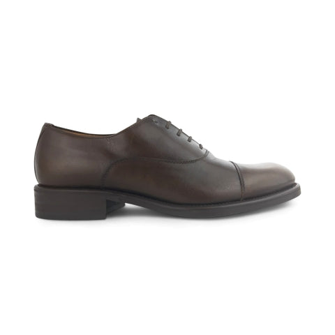 Brown leather oxford
