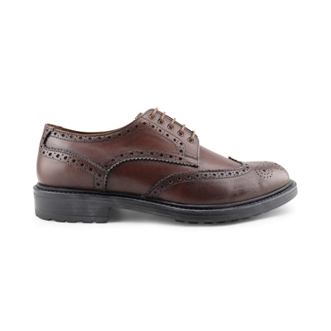 Men's derby shoes in leather