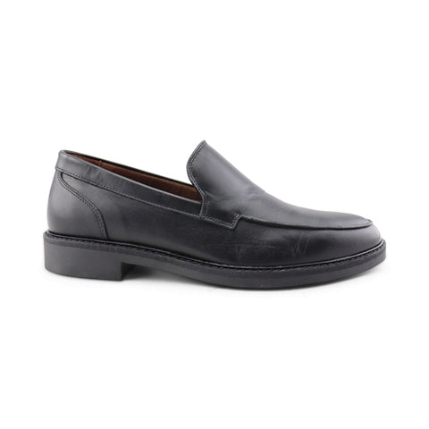 Mocassino in pelle nero
