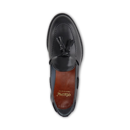 Slipper in pelle nero