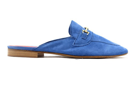 Slipper in suede jeans