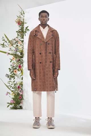 WeDú Brown Trench