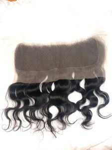Raw Indian Natural Wavy 13x4 Lace Frontal